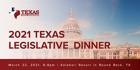 2021 Texas Young Republicans Federation Legislative Dinner tickets