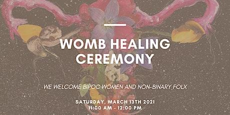 Sound + Reiki New Moon Womb Healing Ceremony for BIPOC Folx tickets