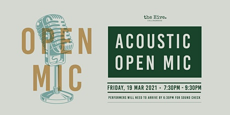 Acoustic Open-Mic Night tickets