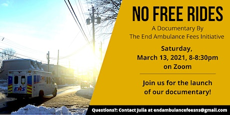 No Free Rides Documentary Screening tickets