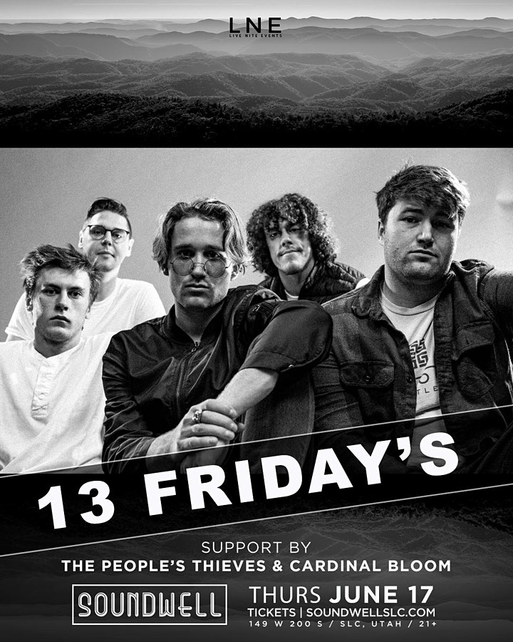 13 Friday's at Soundwell (US Tour) image