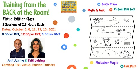 Training from the Back of the Room Virtual Edition (TBR-VE) Tickets