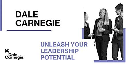 Unleash Your Leadership Potential | Dale Carnegie Online Workshop tickets