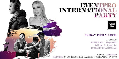 EVENTPRO International Party (Dancing Allowed) tickets