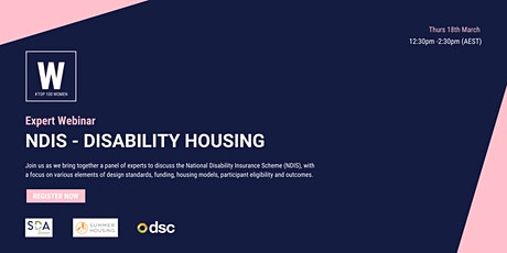 NDIS - Disability Housing tickets