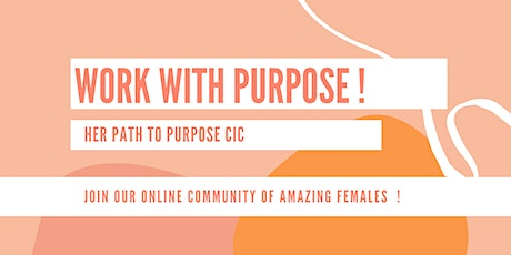 Work with Purpose - Calling all Women tickets