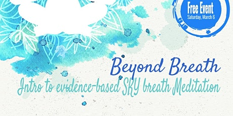 Breathing & Meditation workshop: introduction to the SKY Breath Meditation tickets