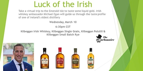 The Bourbonaire Presents...Luck of the Irish Whiskey Tasting tickets