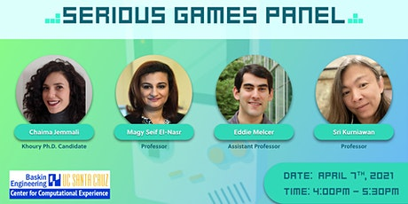 Serious Games Panel tickets