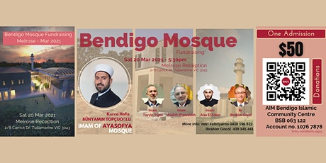 Bendigo Mosque Fundraising - Melrose tickets