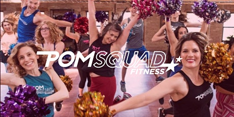 PomSquad Dance Fitness Virtual Workout Online via Zoom with Leah Koch! tickets