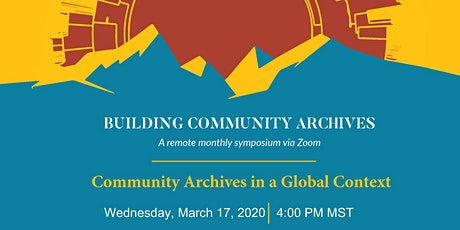 Building Community Archives: Community Archives in a Global Context tickets