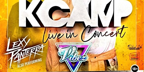 K CAMP Live @ Vibez tickets