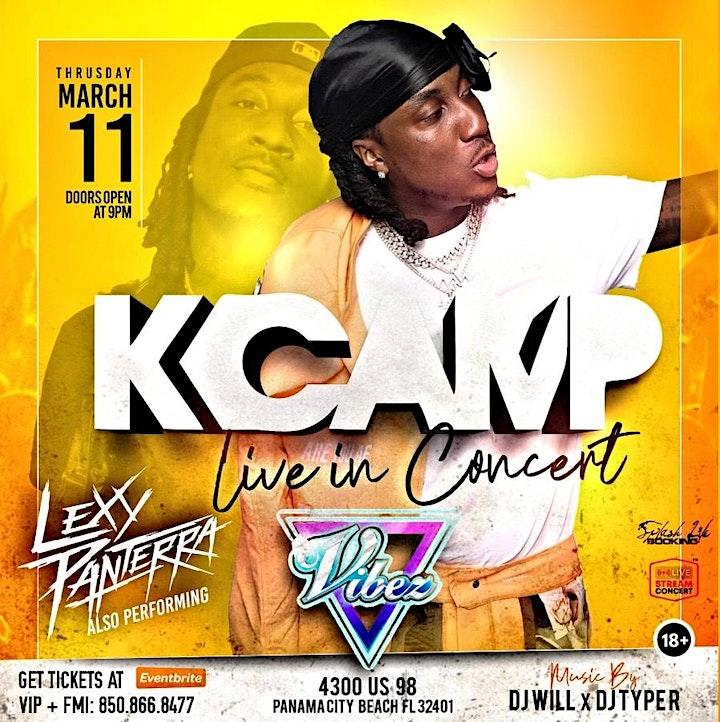 K CAMP Live @ Vibez image