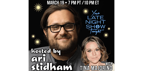 Your Late Night Show Tonight with Ari Stidham tickets