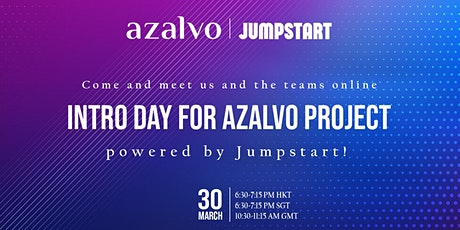 Intro Day for Azalvo Project powered by Jumpstart tickets