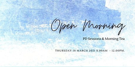 Open Morning Perth & PD Sessions tickets