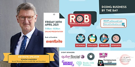 RoB Keynote Speaker: Simon Madden tickets