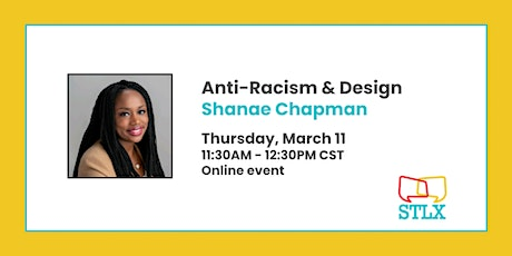 Anti-Racism and Design with Shanae Chapman tickets