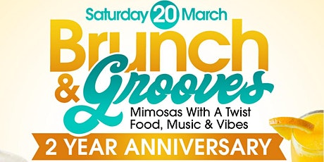Brunch & Grooves:  2 Year Anniversary tickets