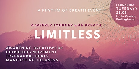 Limitless, a Weekly Awakening Breathwork Journey tickets