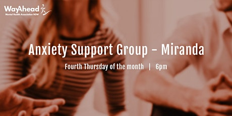 Miranda Anxiety Support Group tickets