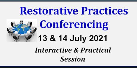 Restorative Practices  Conferencing  Online Workshop by David Vinegrad Tickets
