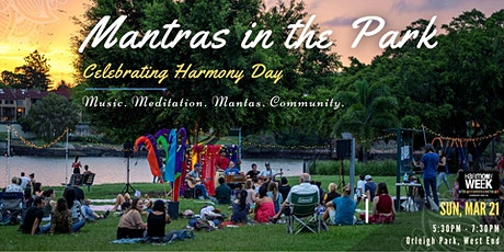 Mantras in the Park - Celebrating Harmony Day tickets