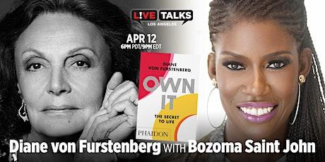 Diane von Furstenberg in conversation with Bozoma Saint John tickets