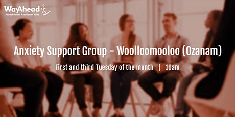 Woolloomooloo Ozanam Anxiety Support Group tickets