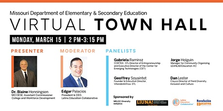 Missouri Department of Elementary & Secondary Education Town Hall tickets