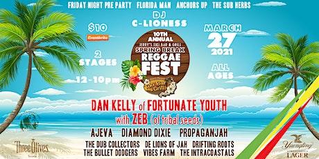 10th Annual Jerry's Tiki Bar Spring Break Reggae Festival tickets