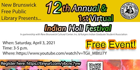 Virtual Indian Holi Festival biglietti