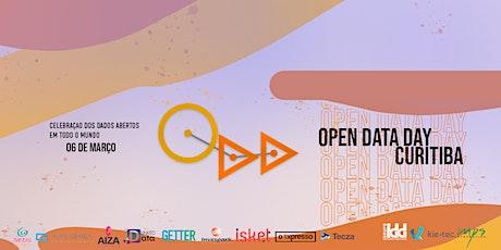 Open Data Day Curitiba 2021 - Versão Online bilhetes