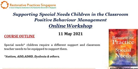 Supporting Special Needs Children in the Classroom Online Workshop tickets
