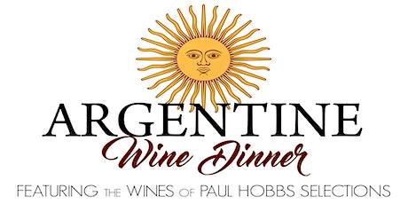 Argentine Wine Dinner tickets