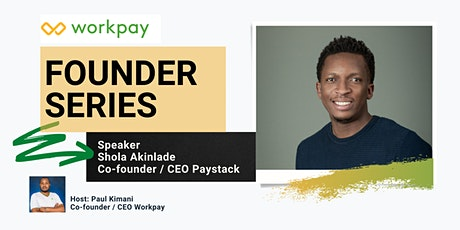 Founder series: YC Application with Shola, CEO Paystack tickets