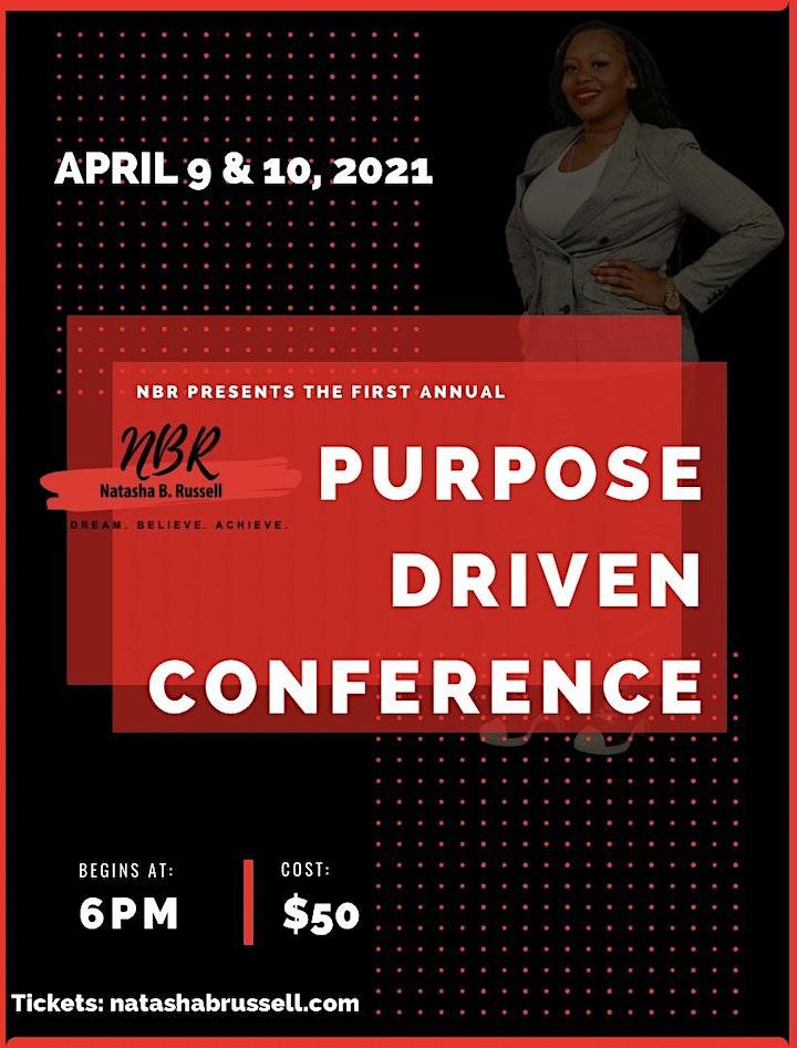 Purpose Driven Conference - Discover your Purpose and gain true fulfillment image