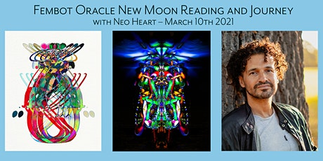 Fembot Oracle New Moon Reading and Journey tickets