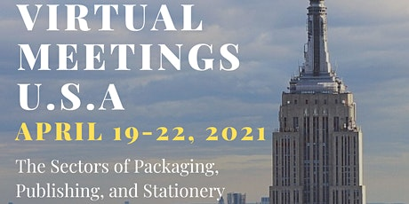 FIRST SUSTAINABILITY! USA Packaging,Publishing and Stationery Meeting Event tickets