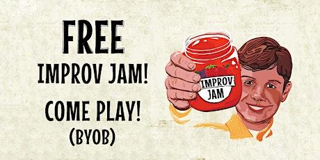 Improv Jam tickets