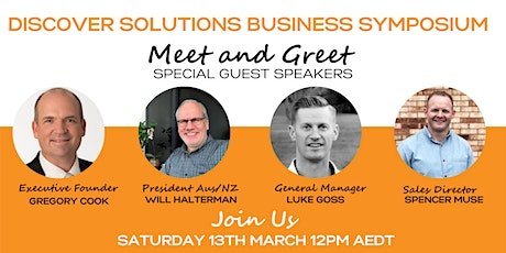 Discover Solutions Business Symposium: Meet & Greet tickets
