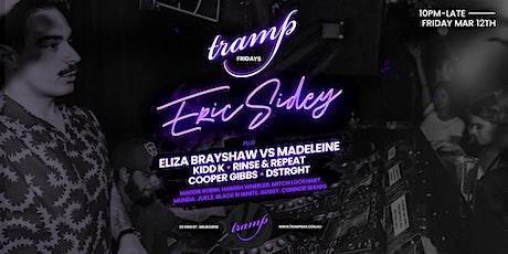 Tramp Fridays - Eric Sidey - 12/3 tickets