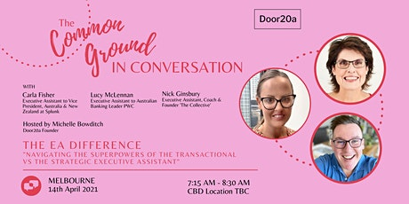 The Common Ground 'In Conversation' Melbourne tickets