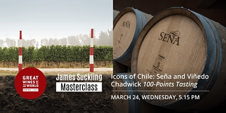 Great Wines of the World Masterclass: ICONS OF CHILE 100-Point Tasting tickets