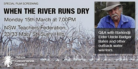 NCC Screening - When The River Runs Dry tickets