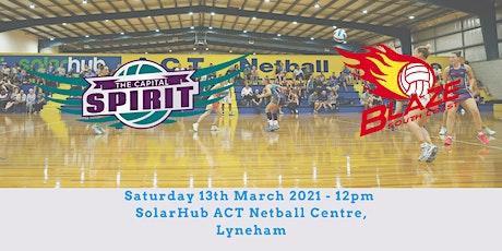 Season Launch - The Capital Spirit v South Coast Blaze tickets
