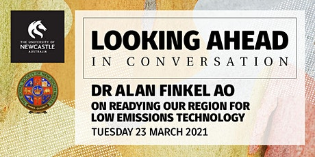 Looking Ahead In Conversation: Dr Alan Finkel AO (In Person Attendance) tickets
