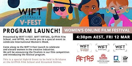 WIFT V-FEST Launch & WIFT VIRTUAL Panel: Women in Leadership tickets