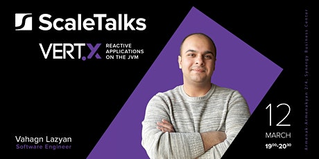 Scale Talk | Vert.x: Reactive applications on the JVM tickets
